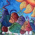 Tangled Mushrooms by Megan Walsh