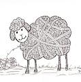 Tangled Sheep by Christianne Gerstner