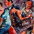 Tango Club # 3 by Debra Hurd