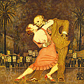 Tango En La Plaza De Mayo by Ruth Hooper