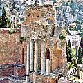 Taormina Amphitheater by John Vincent Palozzi