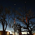 Taos At Night by LeLa Becker