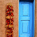 Taos Blue Door by Dominic Piperata