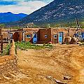 Taos Graveyard by Wayne Wood