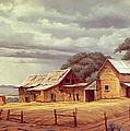 Taos Homestead by Paul Krapf