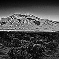 Taos In Black And White X by Charles Muhle