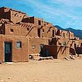 Taos Pueblo 4 by Dany Lison