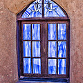 Taos Pueblo Church Window by Brian King