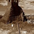 Taos Pueblo Graveyard by Michael Kirk
