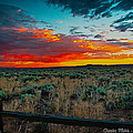 Taos Sunset Xi by Charles Muhle