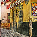 Tapas Bar In Sevilla Spain by Greg Matchick