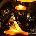 Tapas Bar Reflection by Ros Drinkwater