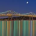 Tappan Zee Bridge Reflections by Susan Candelario
