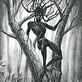 Tar Girl In A Tree by Alisa Bogodarova