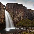 Taranaki Falls In Tongariro Np New Zealand by Stephan Pietzko