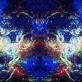Tarantula Nebula Reflection by Jennifer Rondinelli Reilly - Fine Art Photography