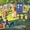 Tardis V Georges Seurat by GP Abrajano