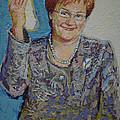 Tarja Halonen - President Of Finland by Voitto Vorna