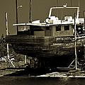 Tarpon Springs Sponge Boat by Jay Droggitis
