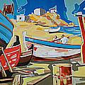 Tarsanas-boatyard by Yiannis Notaropoulos