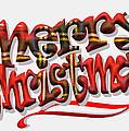 Tartan Merry Christmas by Hal Halli