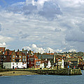 Tate Hill Pier And The Shambles - Whitby by Rod Johnson