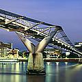 Tate Modern And Millennium Bridge by Rod McLean