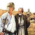 Tatooine Massacre by Edward Draganski