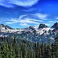 Tatoosh Range by Lynn Hopwood