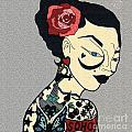 Tattoo Chic Grey Velvet by Karen Larter
