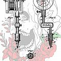 Tattoo Machine Patent by Dan Sproul