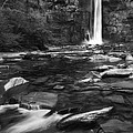 Taughannock Black And White by Bill Wakeley