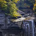 Taughannock Falls  by Bob Phillips
