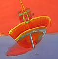 Tavira Fishing Boat by Charles Stuart