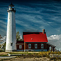Tawas Point Lighthouse by Ronald Grogan