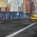 Taxi 9 Nyc Under Construction by Jack Diamond