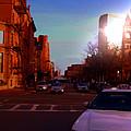 Taxi - Boston by Marcello Cicchini