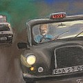 Taxi Driver by Guy Elhanani