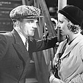 Taxi, From Left James Cagney, Loretta by Everett