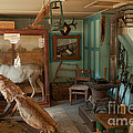 Taxidermy At The Holzwarth Historic Site by Fred Stearns