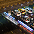 Taxis At Mccarran by Kevin Grant