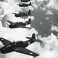 Tbf Torpedo Fighter Bombers Avengers by Everett