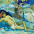 Te Arii Vahine .the Queen Of Beauty Or The Noble Queen. by Paul Gauguin