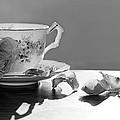 Tea And Roses Still Life by Lisa Knechtel