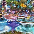 Tea Cup Ride Fantasyland Disneyland Pa 02 by Thomas Woolworth