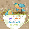 Tea Cup Wisdom by Valerie Drake Lesiak