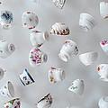 Tea Cups by Jill Battaglia