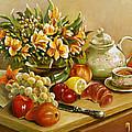 Tea For One by Ewa Pluciennik