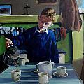 Tea For Three  Me Da Me Ma And Me by Robert Teeling