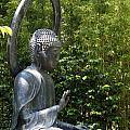 Tea Garden Buddha by Christiane Schulze Art And Photography